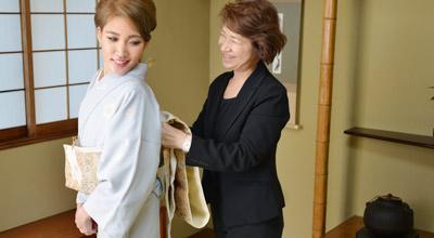 プロの着付師を養成するコース